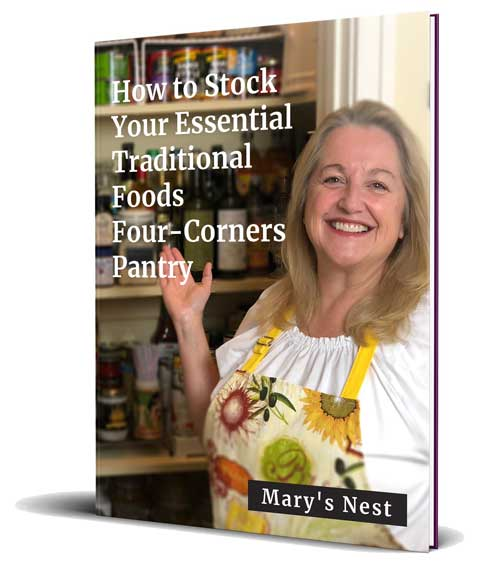 How to Stock Your Essential Traditional Foods Four-Corners Pantry